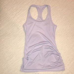 Karma light purple workout tank sz M